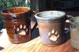 Bobcat Mugs by Sandy Tedder