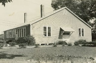 Shadeville High School before additions